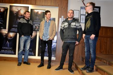 Anselmi, nuori ihmissusi -elokuvan tekijät Matin-Tuvassa 23.1.2014