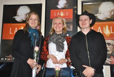 Laulu-elokuvan tekijät Matin-Tuvassa 8.5.2014