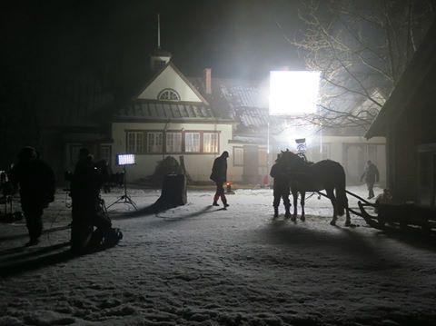 Tammisunnuntai-elokuvaa kuvattiin Ylistarossa