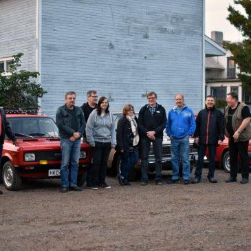 Kyrönmaan ajoneuvoharrastajat vierailivat Matin-Tuvassa