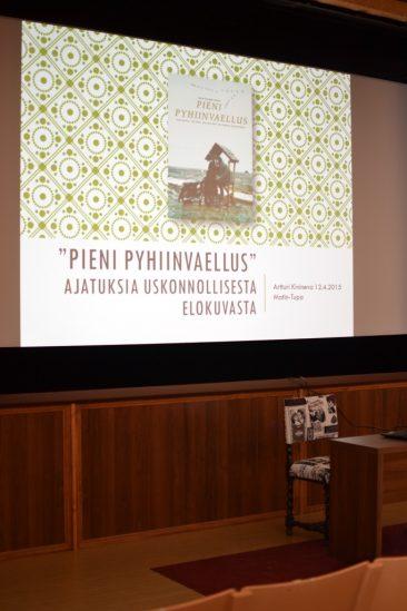 PIeni pyhiinvaellus -elokuvaseurat 12.4.2015